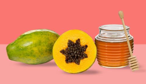 ผลการค้นหารูปภาพสำหรับ รูปพอกหน้ามะละกอ+น้ำผึ้ง